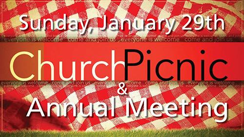 Annual Meeting & Church Picnic