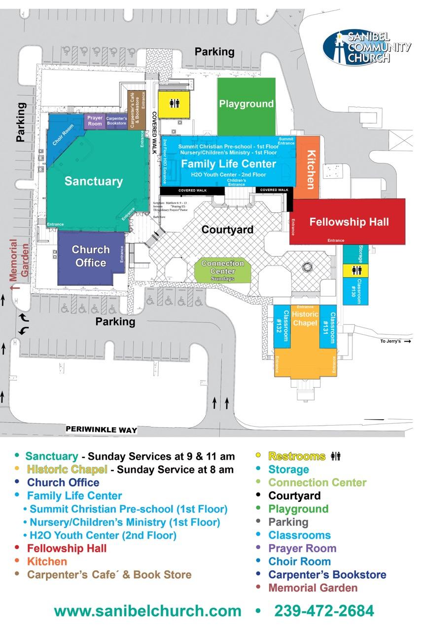SCC-Campus-Map