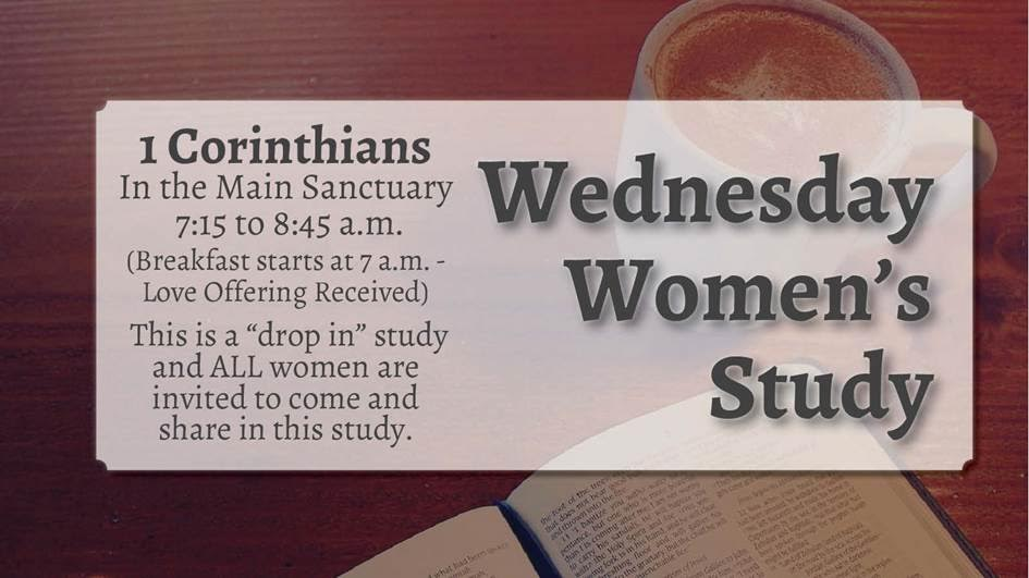 Wednesday Women's Study