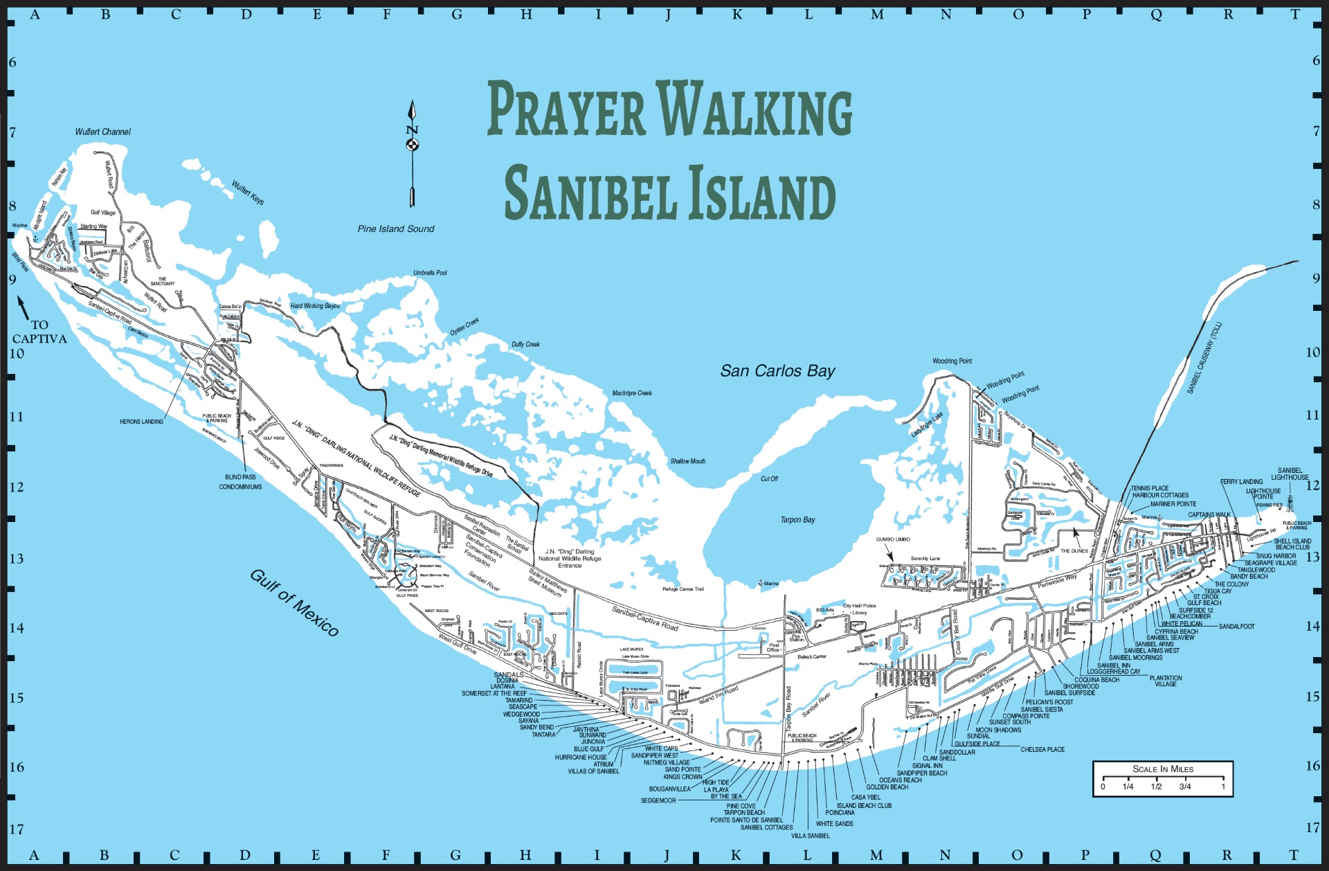 Prayer Walking the Islands