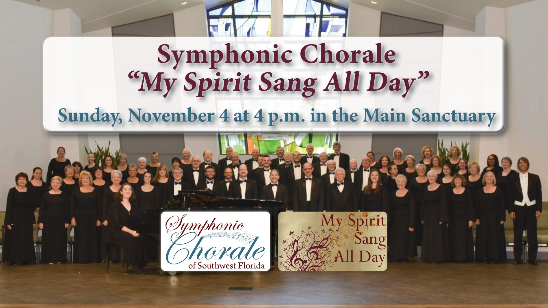 "Symphonic Chorale ""My Spirit Sang All Day"""