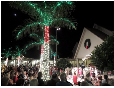 Luminary Lights Shine Bright at Sanibel Community Church