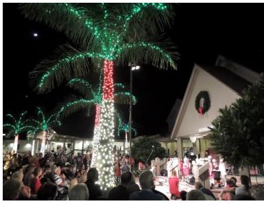 Luminary Lights Shine Bright at Sanibel Community Church