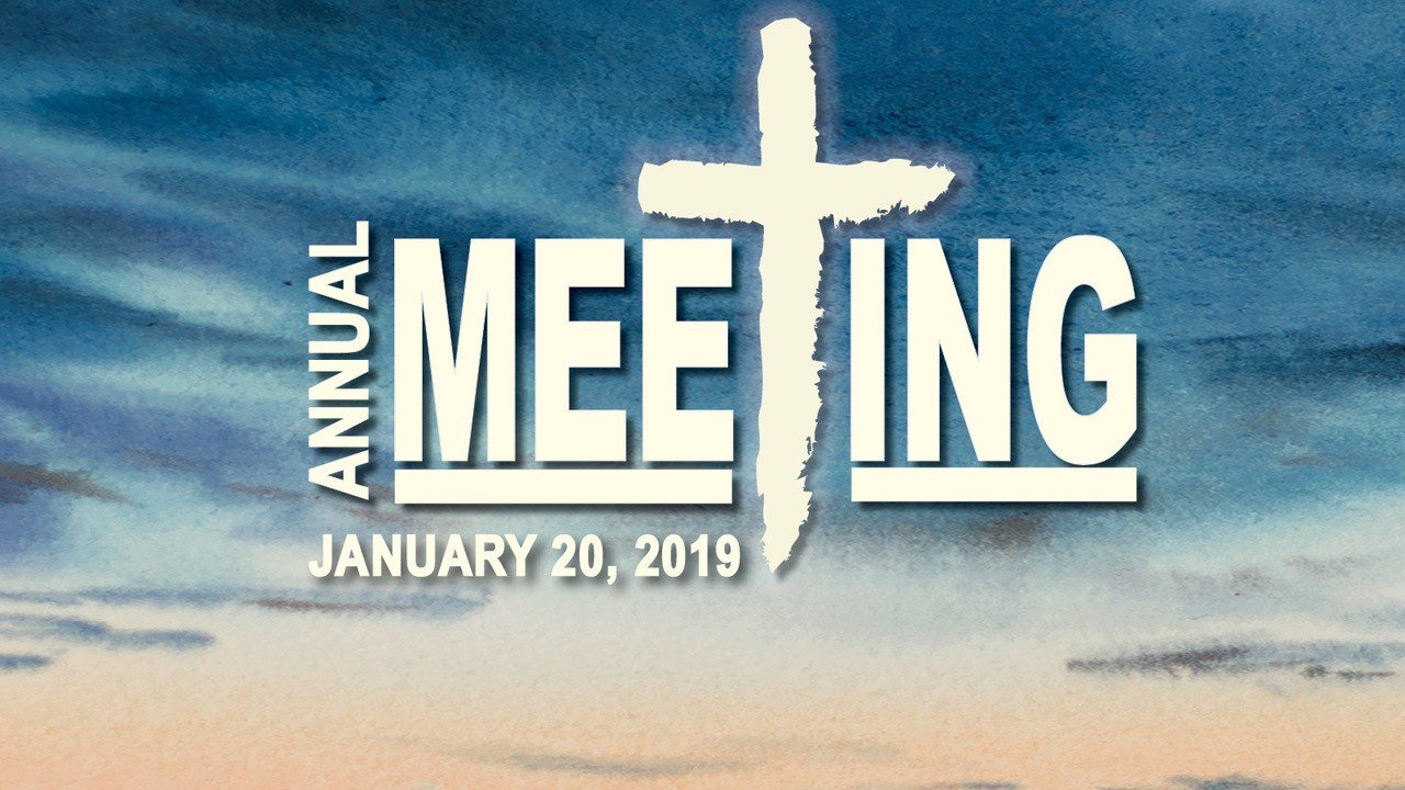 Sanibel Community Church Annual Meeting